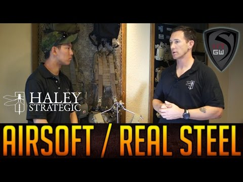 INTERVIEW W/ TRAVIS HALEY : THE RIFT BETWEEN AIRSOFT AND REAL STEEL | SPARTAN117GW