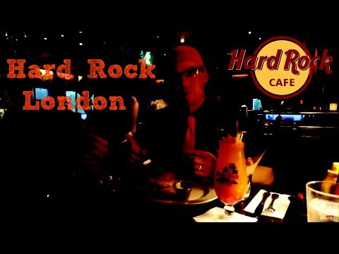 Hard Rock Cafe LONDON Restaurant Review