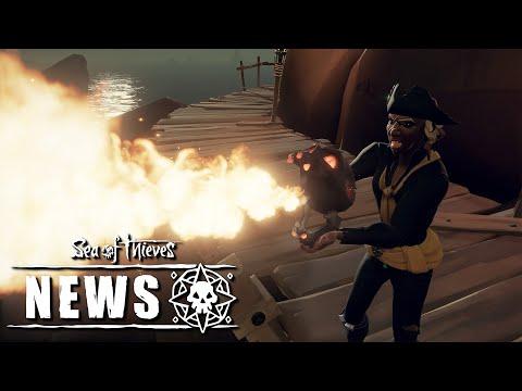 Обновление Sea of Thieves Ashen Winds выйдет на следующей неделе
