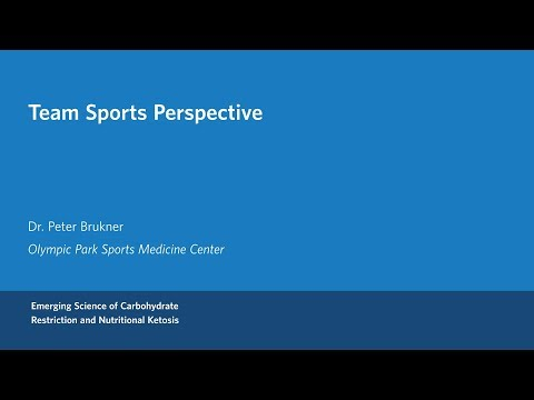 Dr. Peter Brukner - Team Sports Perspective on Ketogenic Diets
