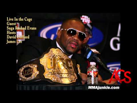 Live In the Cage with Suga Rashad Evans