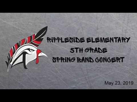 Rippleside Elementary School Spring Band Concert-5th Grade
