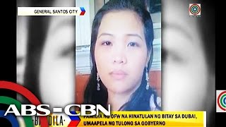 Support pours in for Pinay on death row in Dubai