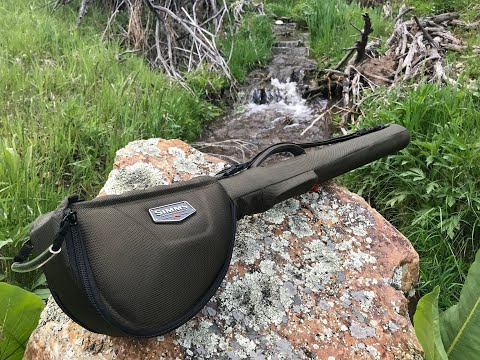 Simms Bounty Hunter Single Four Piece Rod and Reel Case