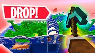 MINECRAFT ALE LOSOWY DROP VS THE WALLS 2