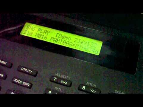 YAMAHA RY30 Demo Song