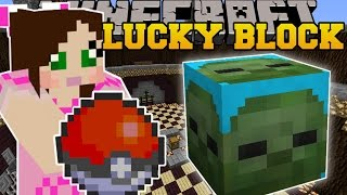 Minecraft: POKEMON CHALLENGE GAMES - Lucky Block Mod - Modded Mini-Game