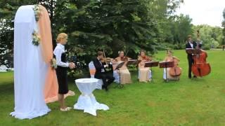 Струнный квинтет на свадьбу в Солнечногорске Зеленограде Клину