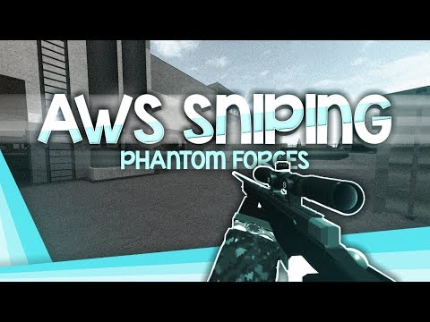 The New Aws In Phantom Forces Roblox By Paradox Poke Sniping With The Aws In Phantom Forces Youtube