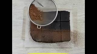讓巧克力迷都瘋狂的甜點!療癒系生巧克力~