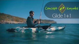 Concept Glide 1+1  Single Fishing sitontop Kayak