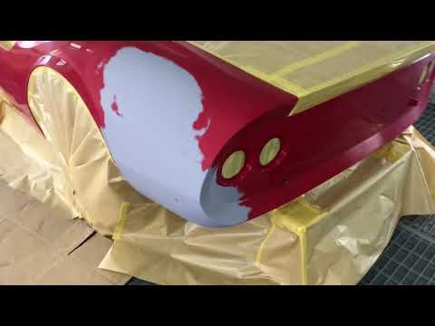 4K『フェラーリ・ディーノ246GT』 鈑金塗装 Body repair Dino246GT ferrari