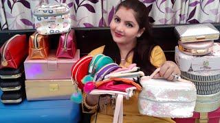 Bridal makeup kit collection 2018 | bridal makeup pouch | makeup vanity | makeup storage box | RARA