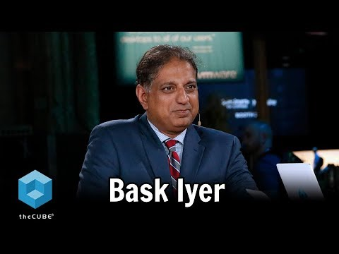 Bask Iyer, VMware and Dell | VMworld 2017