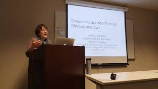 """Janet Kolodner Colloquium - """"Drawn into Science through Mystery and Awe"""""""