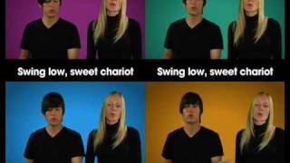 Swing Low Sweet Chariot Gospel Choir Parts