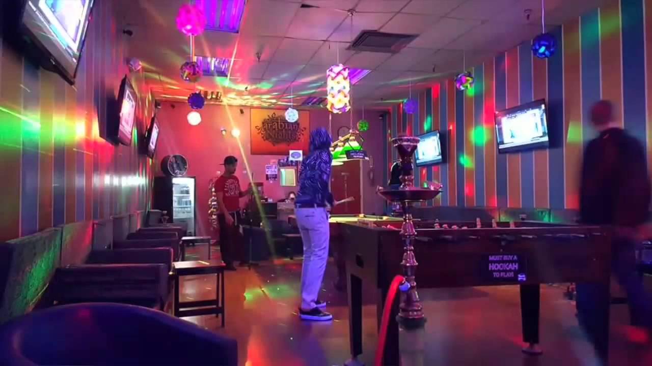fascinating arabian nights hookah lounge | Arabian night's Hookah lounge & café - YouTube