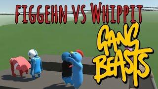 SLÄPP MIG | Gang Beasts Online Beta | figgehn vs Whippit