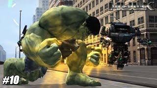 The Incredible Hulk - Wii Playthrough Gamaplay 1080p (DOLPHIN) PART 10