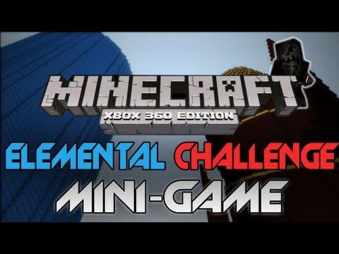 Minecraft: Xbox 360 - Elemental Challenge W/ Download (Minecraft Mini-Game Review)