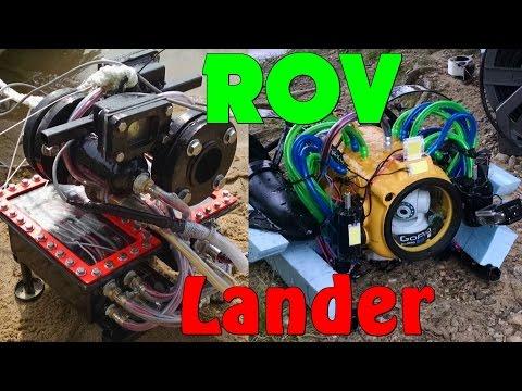 Deep Sea Lander, ROV and Mini Underwater Cameras