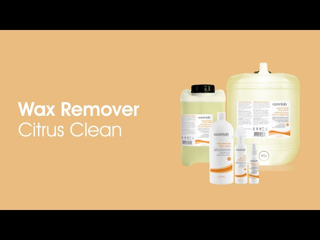 Citrus Clean Wax Remover
