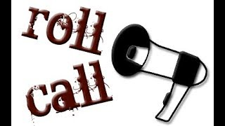 Roll Call 1