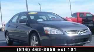 2005 Honda Accord Sdn - TDR Auto Plaza - Kearney, MO 64060