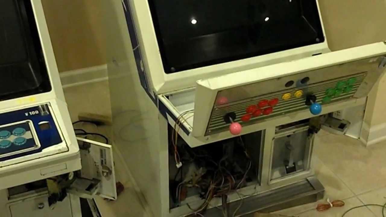 Sega Aero City Candy Arcade Cabinets Pick Up