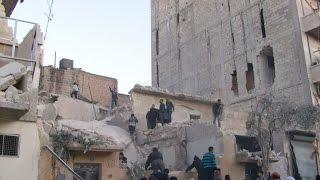 أخبار عربية - قوات الأسد تقتحم أحياء حلب الشرقية وتواصل قصف المدينة وريفها