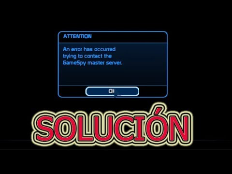 Error ATTENTION An Error Has Occurred Trying To Contact GameSpy Master Server. | Halo Ce