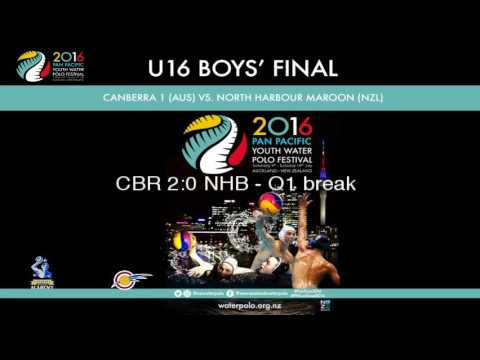2016 Pan Pacific Youth Water Polo Festival: Under 16 Boys' Final