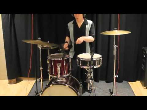 Stand Up Rockabilly Drum Cover