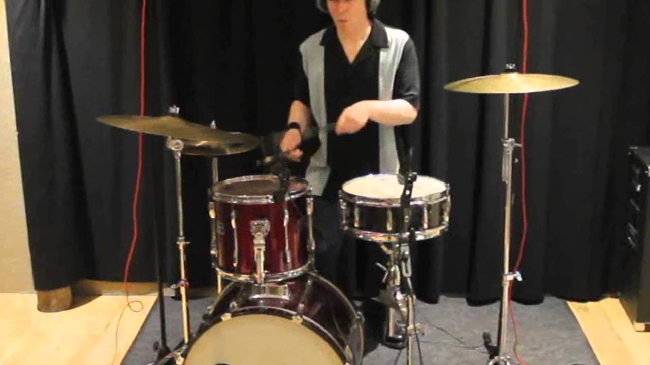 Stand Up Rockabilly Drum Cover Youtube
