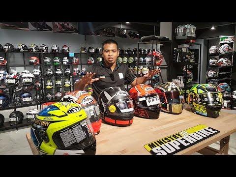 MinistryOfSuperbike.com New Studio And Helmet Price Review (Malay Language)
