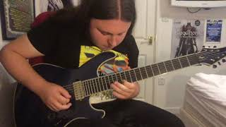 Dream Theater - This Dying Soul - Intro Solo Cover