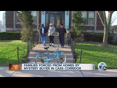 Families forced from homes by mystery buyer in Cass Corridor