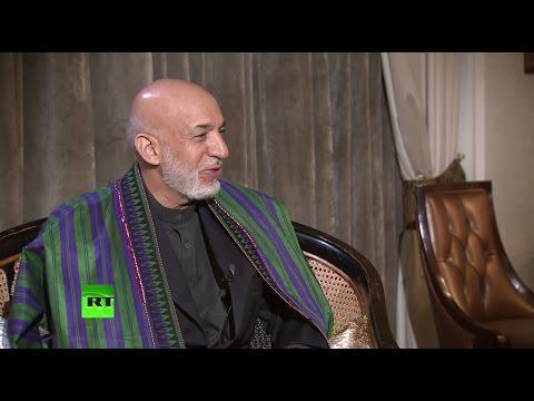 Хамид Карзай в интервью RT: США и их союзники не смогли добиться устойчивой безопасности Афганистана