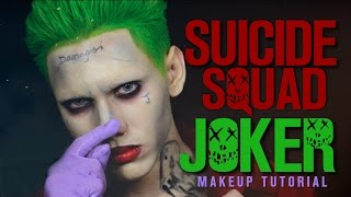 Suicide Squad JOKER Makeup Tutorial