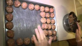 Christmas Holiday Cooking 2015 Joanne's Norwegian Meatball recipe and best tutorial