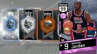 NBA 2K17 My Team - Pulled a New Diamond! Closer to Pink Diamond Jordan! PS4 Pro