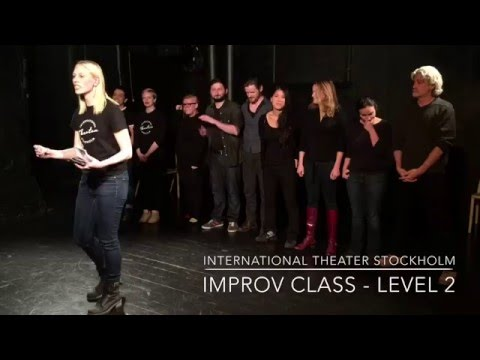 International Theater Stockholm - Improv Level 2 Winter Class Show 2015