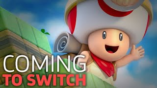 Captain Toad Busts Onto The Switch