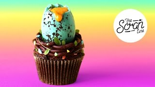 CHEESECAKE EASTER EGG HUNT CUPCAKES - The Scran Line