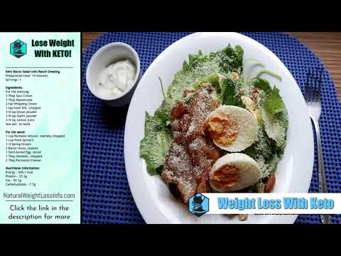 keto-bacon-salad-with-ranch-dressing-|-weight-loss-with-keto-[easy-recipe]