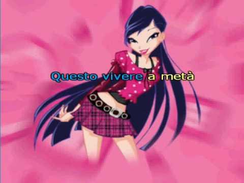 Musa Winx Song La mia Canzone  Sing alone