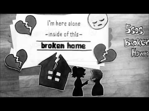 5 seconds of summer - broken home lyrics ❤️