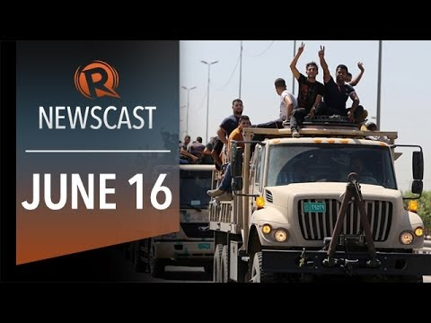 Rappler Newscast: Iraq crisis, pork scam cases, Schumacher out of coma