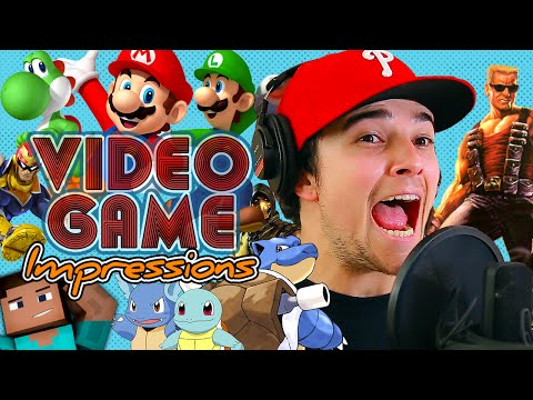 VIDEO GAME IMPRESSIONS! | Mikey Bolts