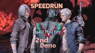 Devil May Cry 5 2nd Demo PS4 Speedrun World record